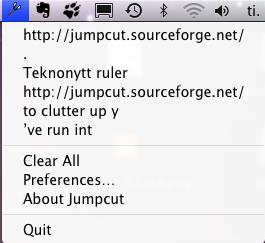2008 07 22 2350 Jumpcut: lagrer din utklippstavles historie [MacOS]