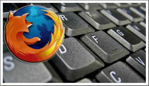 black keyboard Nyttige Firefox Tastatur Snarveier
