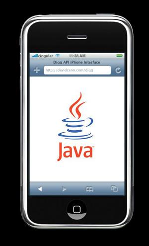 iphone java Java Løsning for iPhone og iPod Touch Annonsert