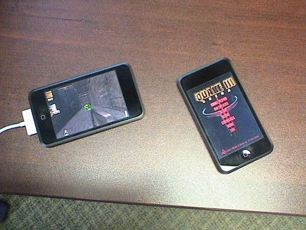 quake 3 ipodtouch Mer Om Quake 3 For iPhone