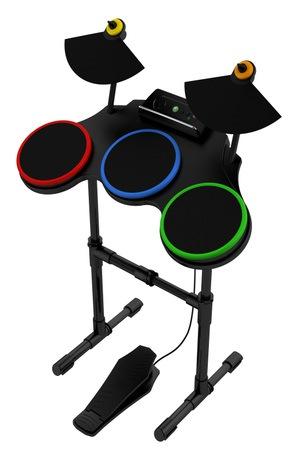 200808011634 Logitech inngår Guitar Hero World Tour samarbeid med Activision