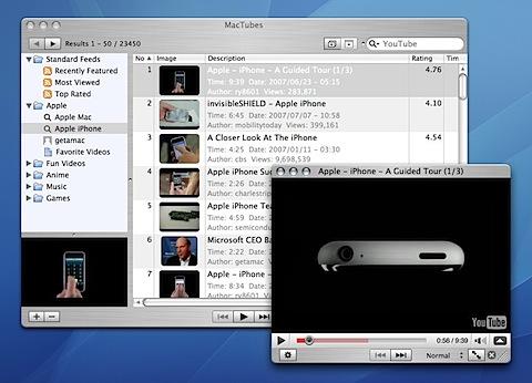 200809132047 MacTubes: Unødvendig å åpne nettleseren for å se YouTube videoer? [Mac]