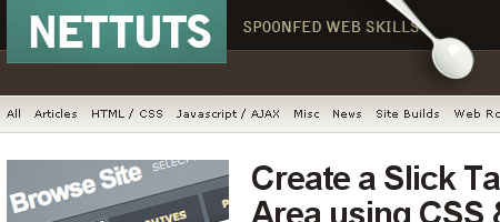 21 01 nettuts Gode kilder for Webdesignere og Webutviklere