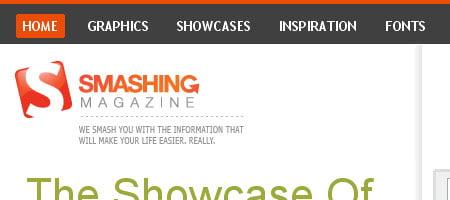 Smashing Magazine - Screen shot