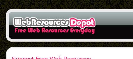 Web Resources Depot - Skjermbilde