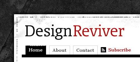 Design Reviver - Skjermdump