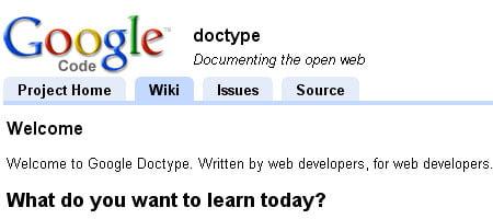 Google legen - Skjermdump