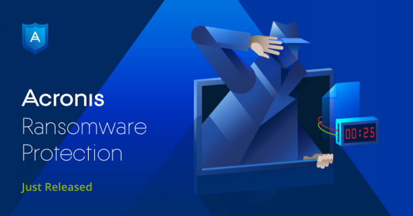 Gratis ransomware-beskyttelse fra Acronis