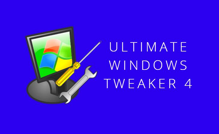 Ultimate Windows Tweaker til Windows 10