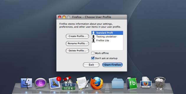 Her ser du at det overflødige ikonet nå er skjult, oppdrag utført (skjermdump).