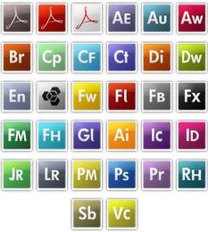 adobeikoncs3 Adobe klar med CS4 annonsering