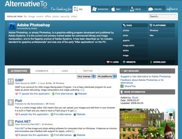 alternative to 630x480 Finn alternativer til applikasjoner med Alternative To Beta