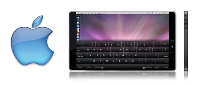 apple netbook Rykte: Apple med touch netbook til sommeren?