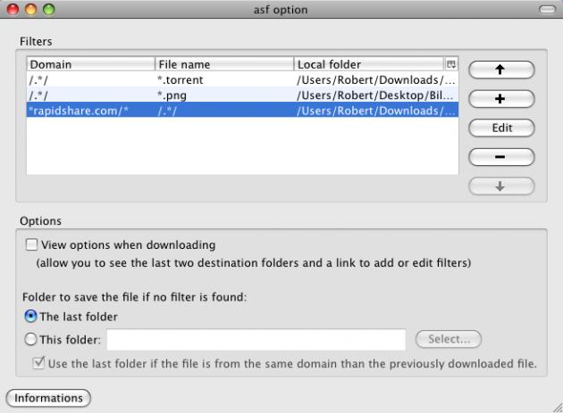 asf 630x463 Utvidelse gir full kontroll over nedlastede filer i Firefox