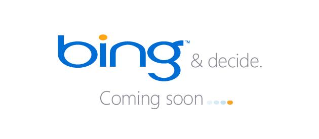 """Bing.com: Microsoft kommende søkemotor skal hete """"Bing"""" og vil satse på alternativ funksjonalitet. Bing.com er ennå ikke lansert, men Microsoft har sluppet en """"teaser"""" som viser søkemotorens funksjonalitet."""