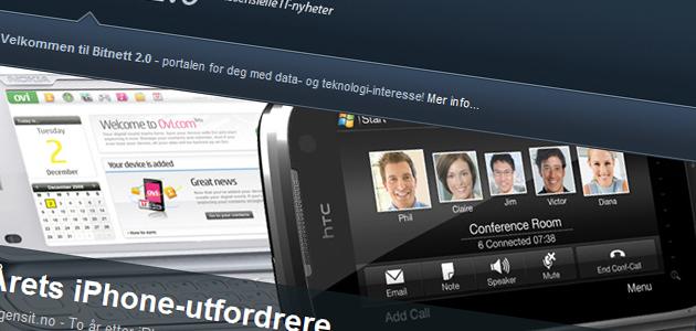 Nye Bitnett (2.0) viser deg siste nytt innen data, teknologi, IT, spill, medier, etc.