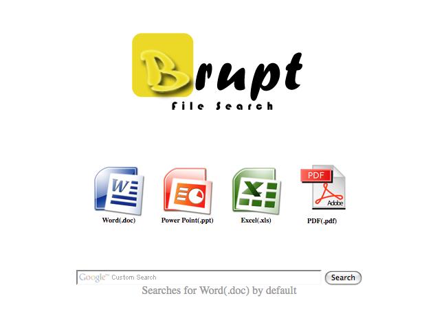 brupt Brupt   søkemotor for dokumenter