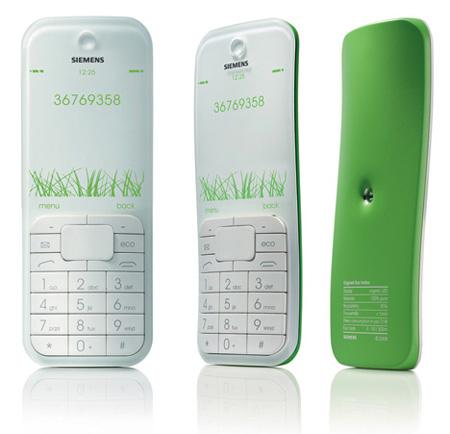 Leaf mobiltelefon konseptet