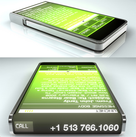 ccellp11 Sjokkerende Mobiltelefon Design!