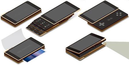 ccellp4 Sjokkerende Mobiltelefon Design!