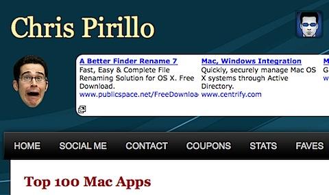 chrisp Tidenes kilde liste over gratisprogrammer for Mac