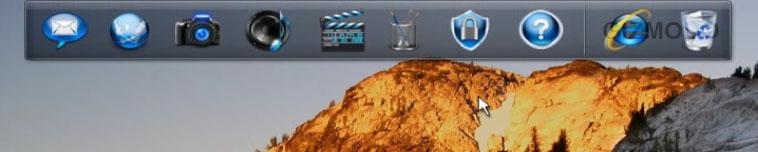 dell dock Dells Studio laptops vil inneholde en Dock vi har sett før   i Mac OSX