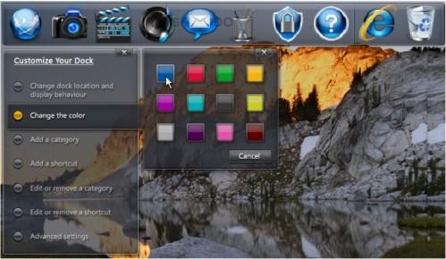 dell dock 3 499x290 Dells Studio laptops vil inneholde en Dock vi har sett før   i Mac OSX