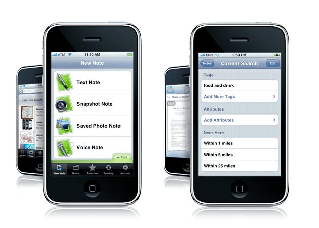 evernote iphone 5 AppStore programmer som gjør iPhone verdt å kjøpe