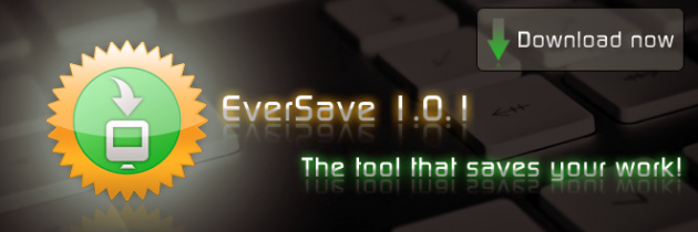 eversave 630x210 EverSave   Automatisk lagring av ditt arbeid [Mac]