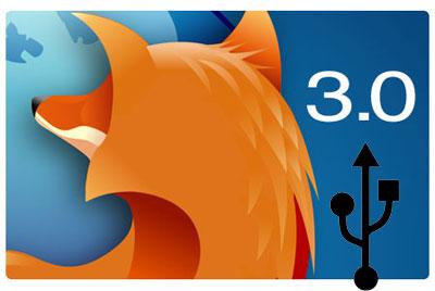 firefox 3 beta5 Firefox 3.0 USB lar deg ta med din yndlingsnettleser hvor du vil
