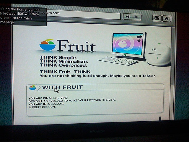 fruit Apple parodi skjult inne i GTA IV