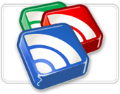 google reader logo Marker som lest mens du scroller i Google Reader i Listevisning!++