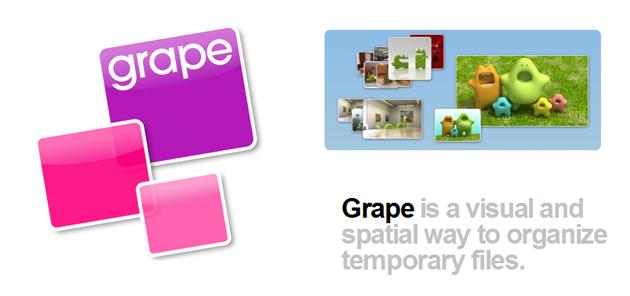 grape Grape: Unngå rot på Mac OS X skrivebordet