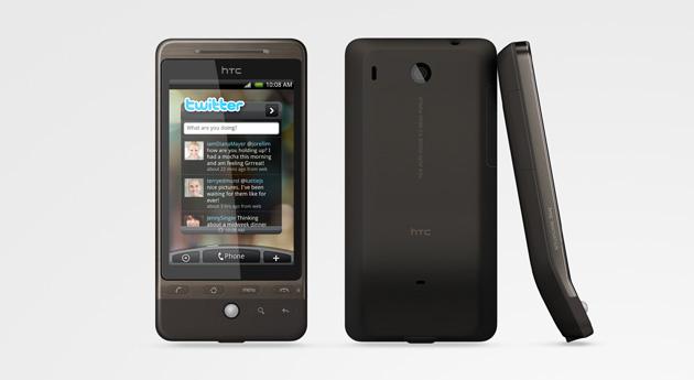 HTC Hero i svart finish. (Foto: HTC)