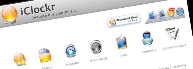 iclockr 19 Gratisprogrammer som hjelper oss å være mer produktiv [MacOS]