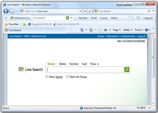 Med nye Internet Explorer 8 gjør Microsoft det - tro det eller ei - godt. Det holder til å unngå jumboplass for programvaregiganten.