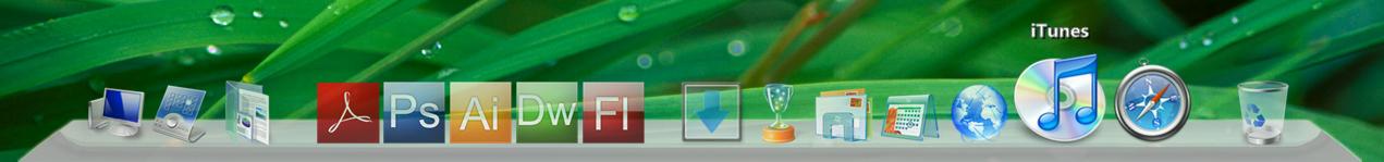 img skins dock mac osx leopard robb007 5393 Funksjoner Windows burde ha, vi viser deg hvordan du får dem   Del 1