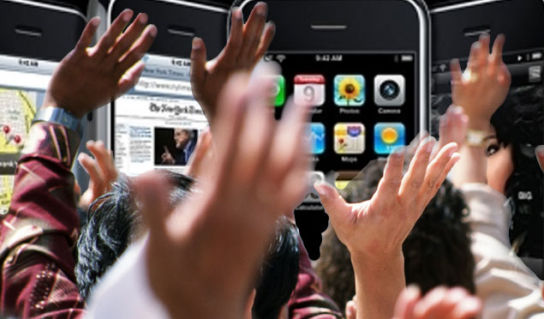 iphone hysteri 3G iPhone utsolgt med engang i Storbritannia