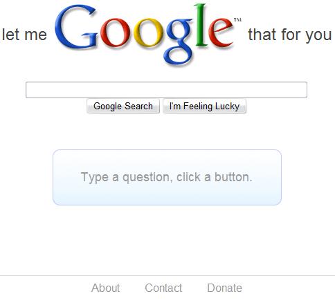 letmegooglethatforyou1 La meg google det for deg