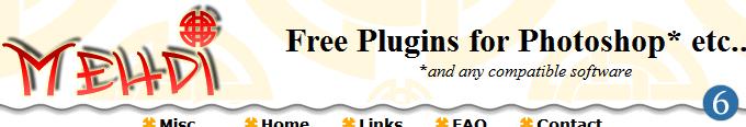mehdi De beste gratis kildene til Photoshop Plugins og Filter