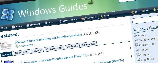 mintywhite inngress Her finner du guider for Windows 7