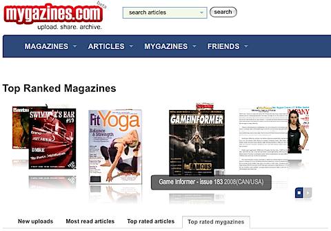 mygazines Mygazines.com: Les dine favoritt magasiner helt gratis på nett