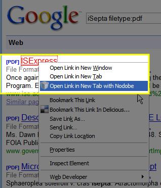 nodobe google search right click Nodobe: Åpne de fleste dokumentformater i Firefox