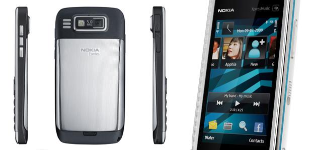 Kameraet på E72 får 5 megapiksler. Til sammenligning har lillebror E71 kun 3,2 megapiksler. (Foto: Nokia)