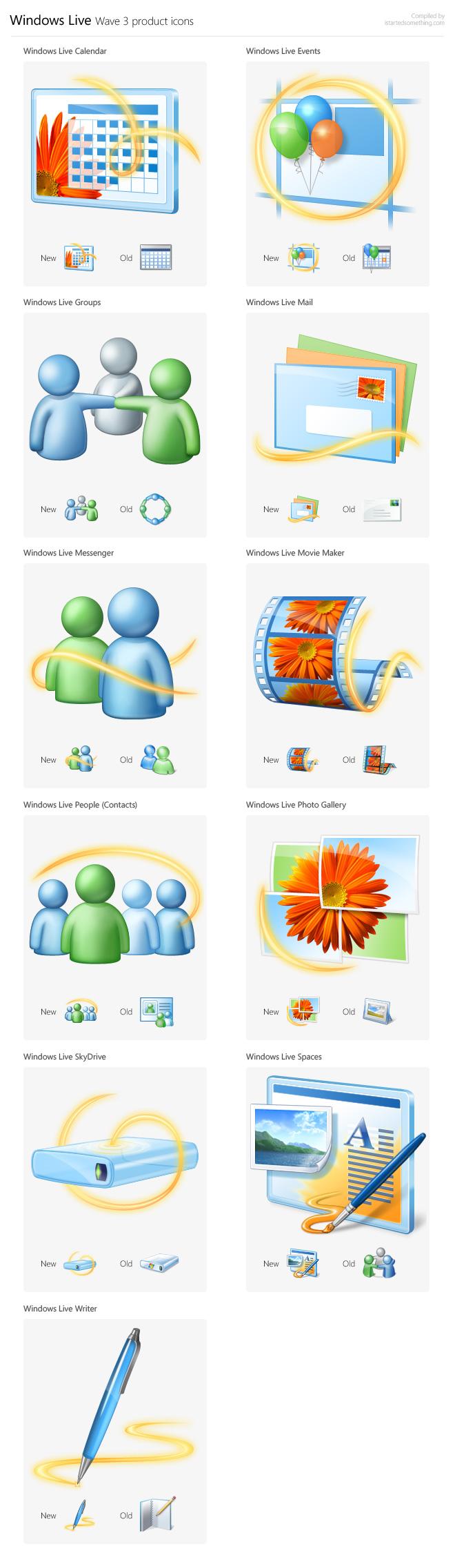 nyewindowsliveikon Windows Live får nye ikon
