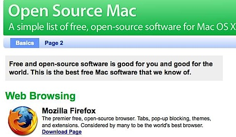Open Source Mac - Free Mac software, all open-source, all OS X..jpg