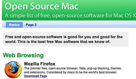 Open Source Mac - Free Mac software, all open-source, all OS X..jpg