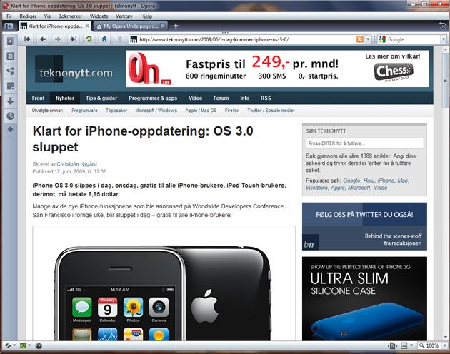 %name Opera Unite gjenoppfant ikke akkurat weben