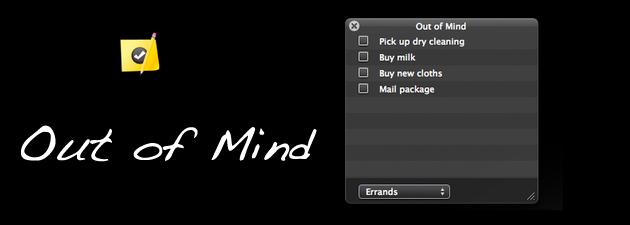 outofmind 19 Gratisprogrammer som hjelper oss å være mer produktiv [MacOS]