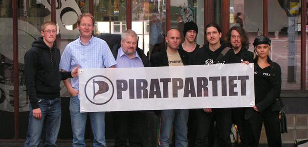 piratpartiet Svenske Piratpartiet går for plass i europaparlamentet
